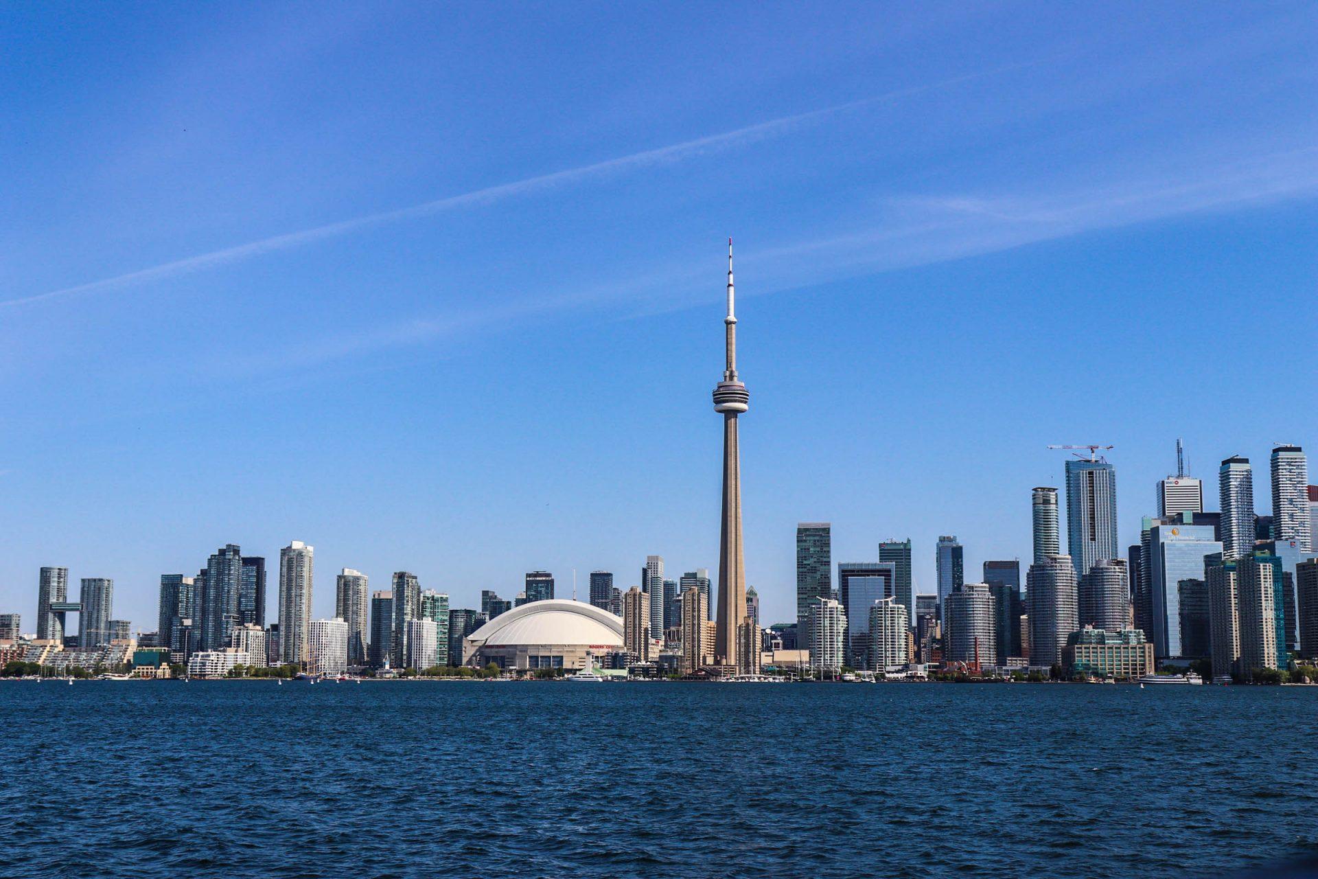 Toronto avec vue sur le downtown