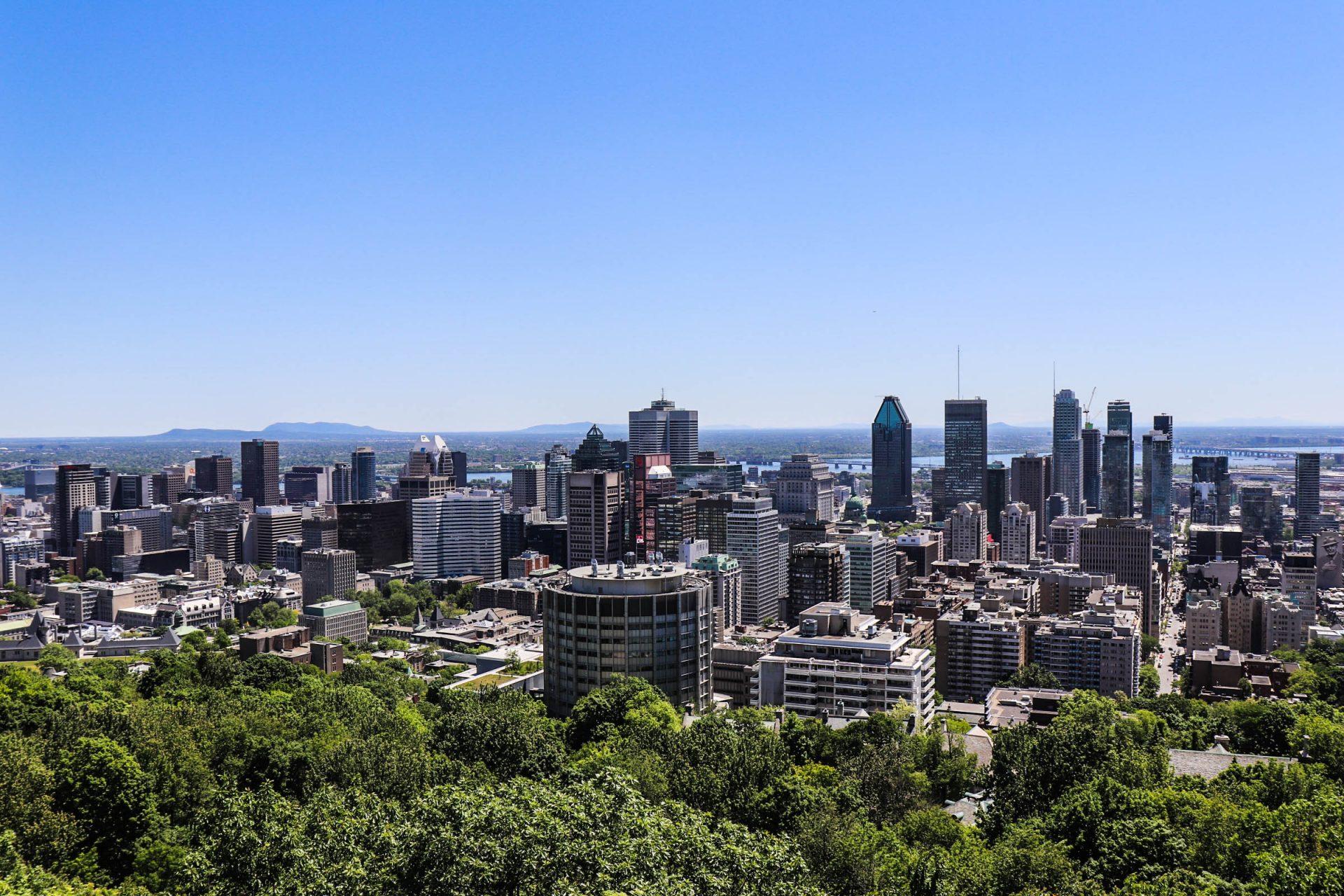 Montréal, le Mont Royal