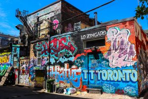 graffity alley à toronto