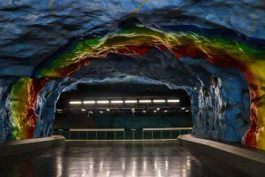 Station de métro de stockholm