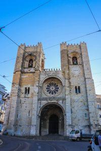 cathédrale de sé de lisbonne