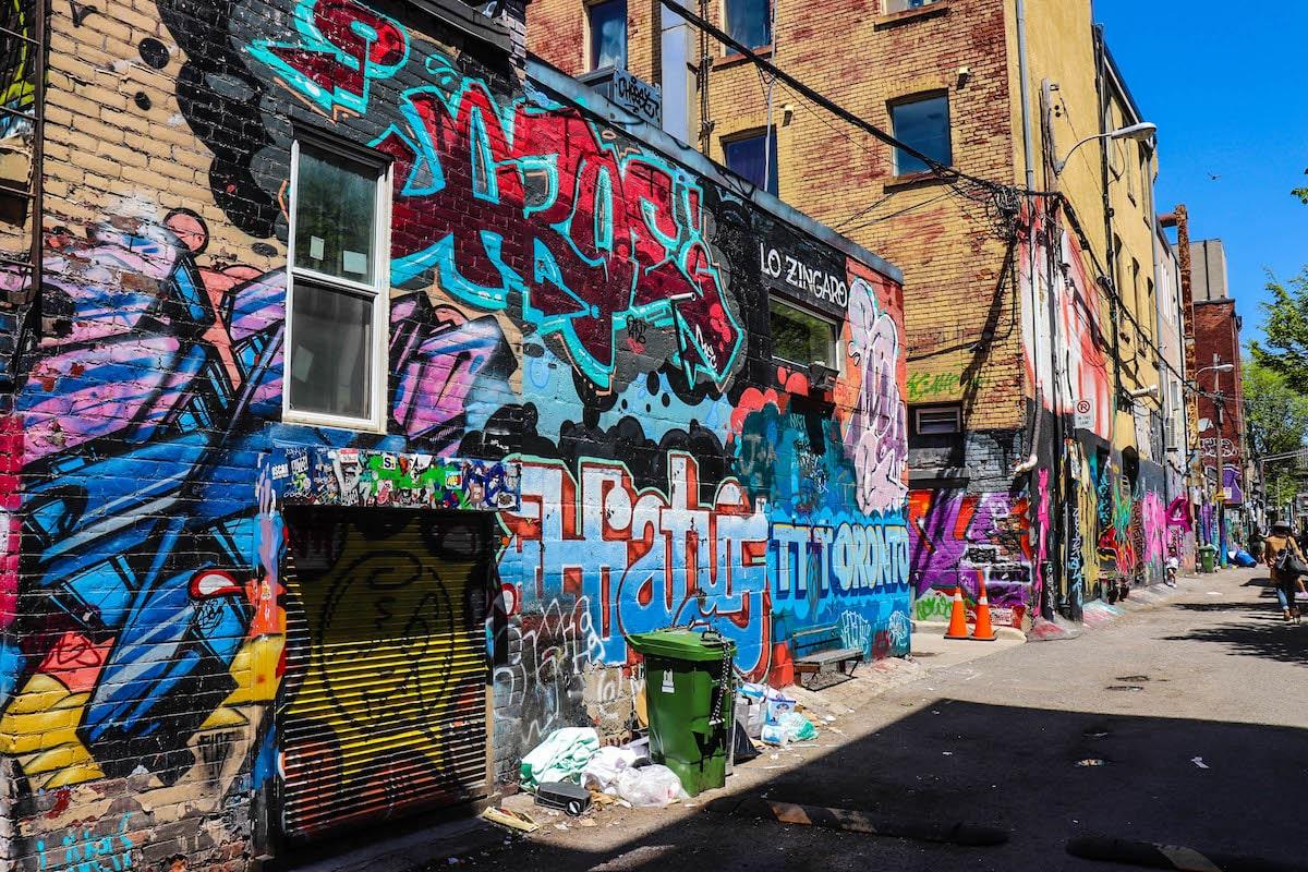 graffity alley à toronto