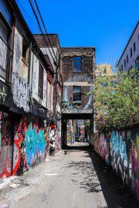 street graffity alley toronto