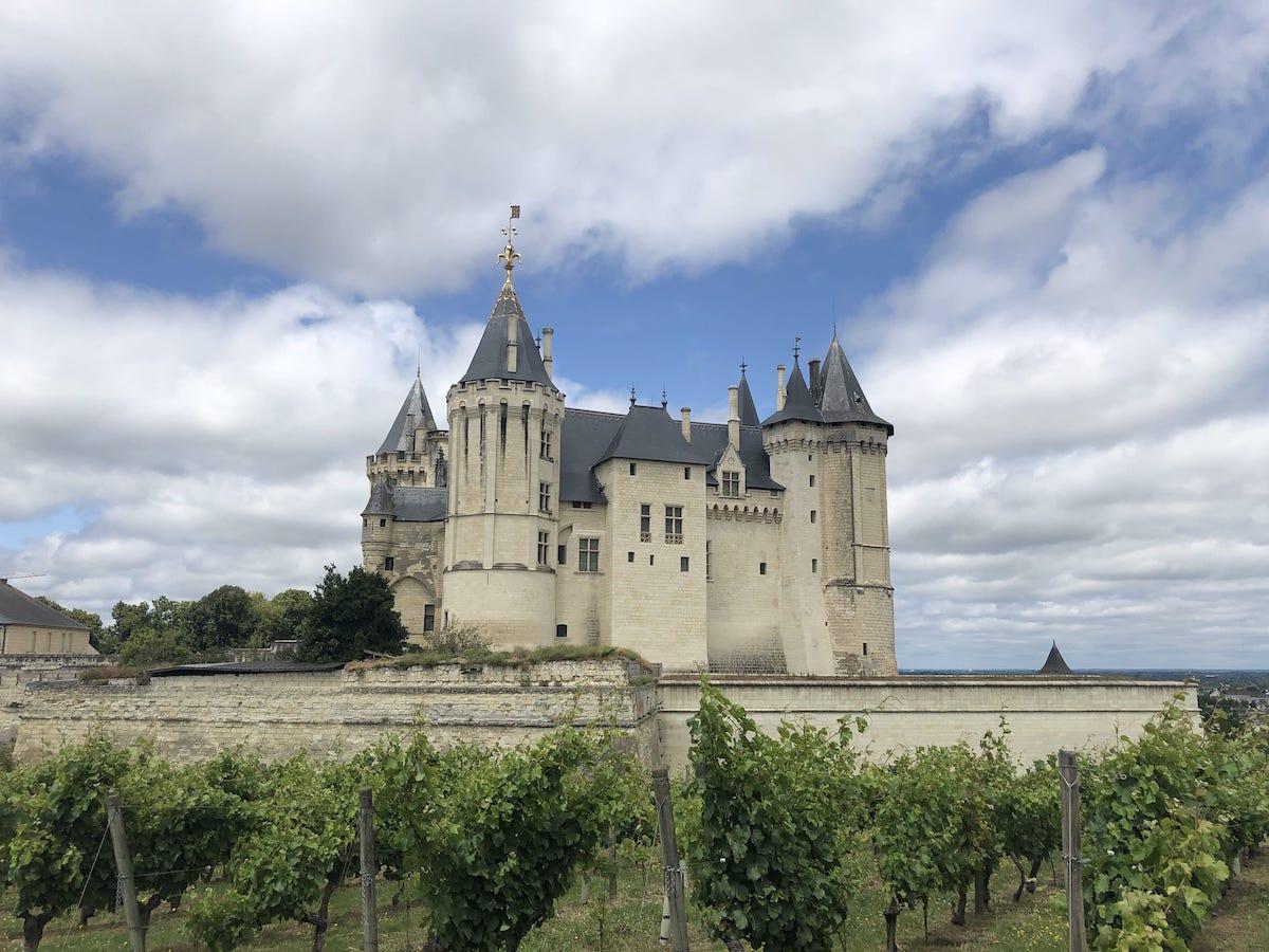 visiter la chateau de saumur
