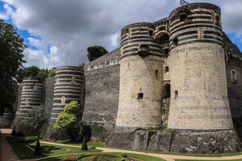 visiter le chateau d'angers
