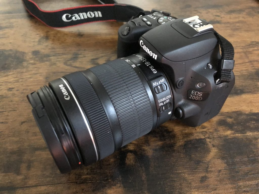 appareil photo de voyage
