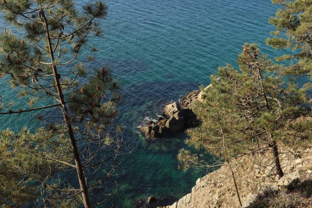 sentier du littoral sur la presqu'ile de crozon