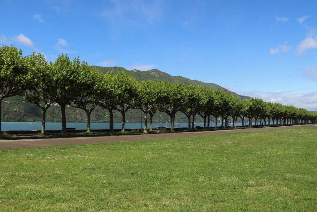 balader à l'esplanade du lac du Bourget