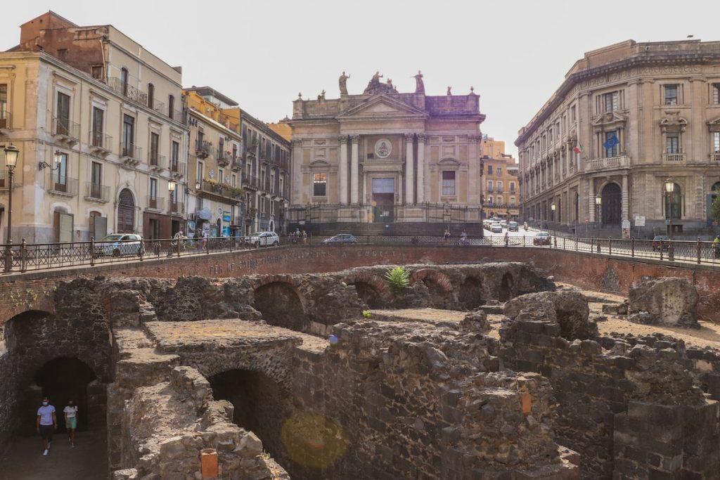 Anphitheatre romano de Catane