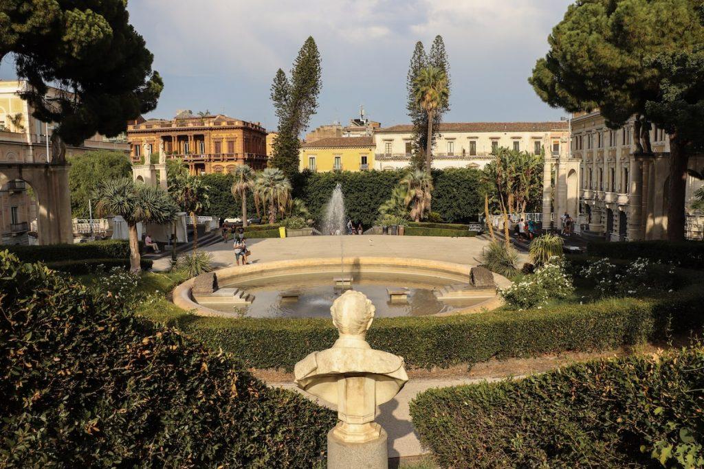 villa bellini a catane