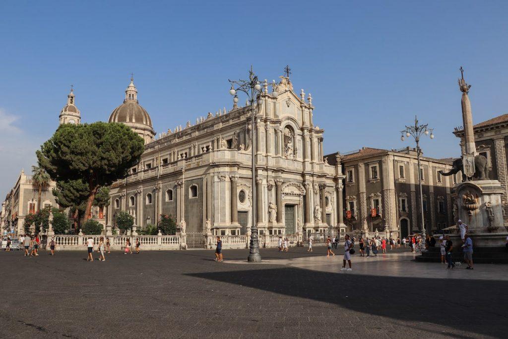 Cathédrale sant'agata de Catane